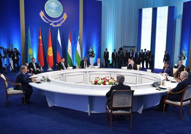 Una seduta dell'Organizzazione per la Cooperazione di Shanghai (foto d'archivio)