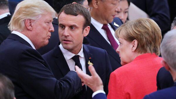 Al Vertice G20 ad Amburgo - Sputnik Italia