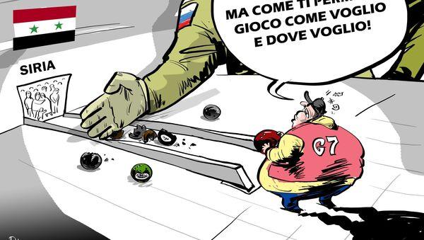 Il Gruppo dei sette si è espresso per il mantenimento delle sanzioni anti-russe imposte per le inaccettabili azioni della Russia in Ucraina e in Siria. - Sputnik Italia