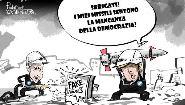 Cosa fare in caso di mancanza di democrazia - Sputnik Italia