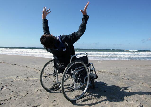 Ragazzo disabile