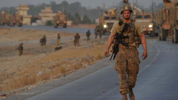 Soldato NATO in Afghanistan - Sputnik Italia