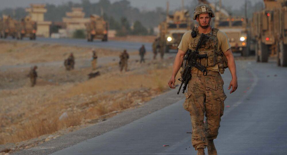 NATO officer in Afghanistan