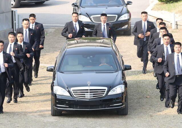 L'auto di Kim Jong-un