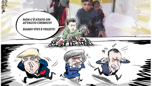 Russia porta testimoni siriani su attacco chimico a OPAC, Occidente furibondo - Sputnik Italia