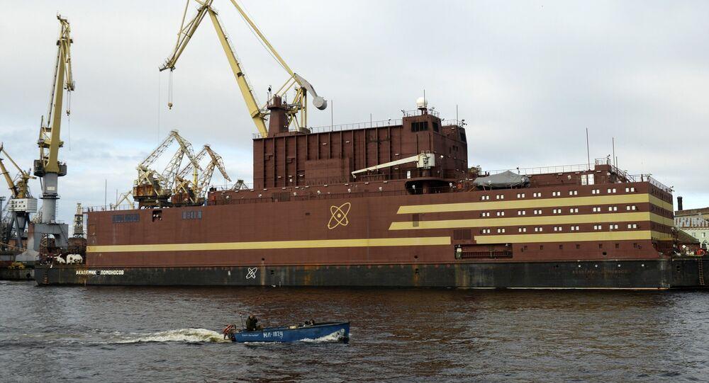 Centrale nucleare galleggiante Akademik Lomonosov