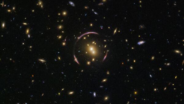 Foto dell'occhio spaziale fatta con il telescopio Hubble. - Sputnik Italia