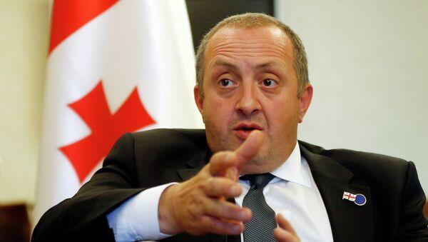 Giorgi Margvelashvili - Sputnik Italia