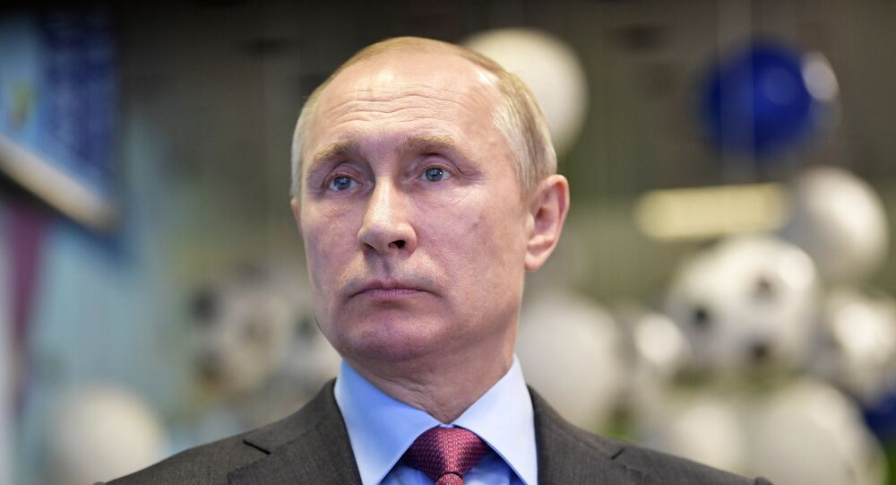 Vladimir Putin a Sochi