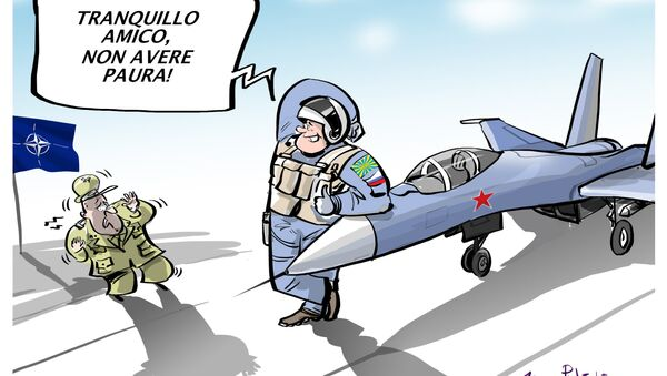 National Interest: paura della NATO per i caccia russi - Sputnik Italia