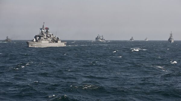 Le navi da guerra NATO nel mar Nero (foto d'arhivio) - Sputnik Italia