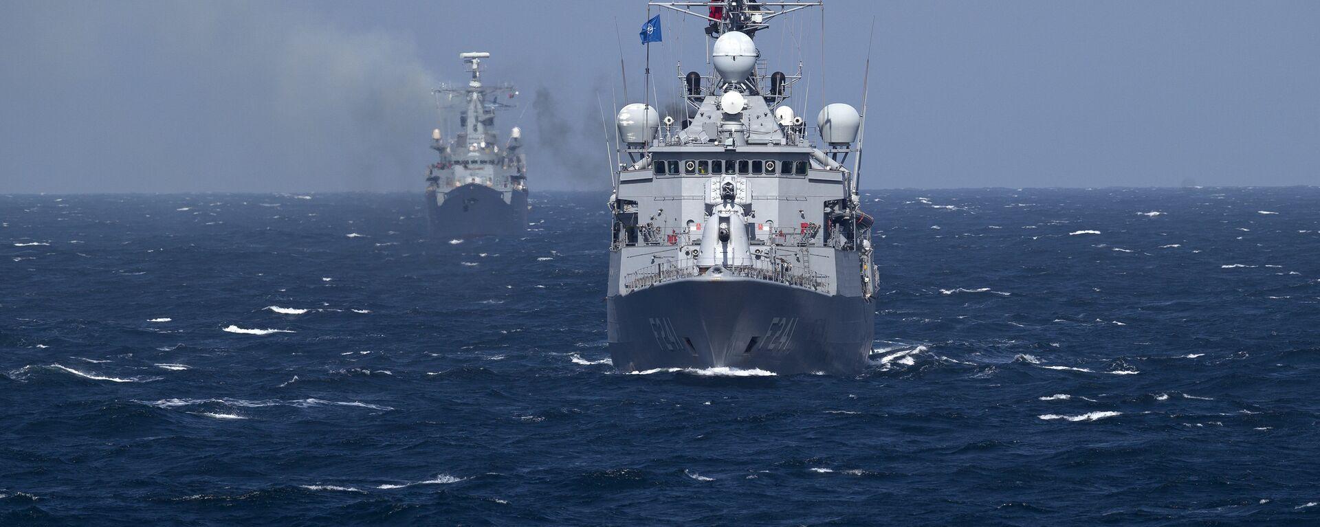 Navi da guerra NATO nel mar Nero - Sputnik Italia, 1920, 14.06.2021