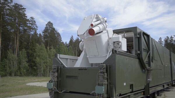 Sistema laser Peresvet - Sputnik Italia