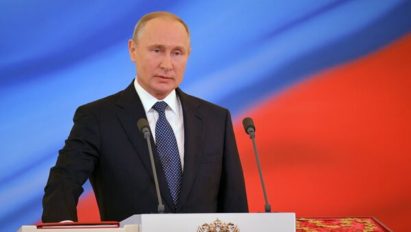 Inauguration of Russian President Vladimir Putin - Sputnik Italia