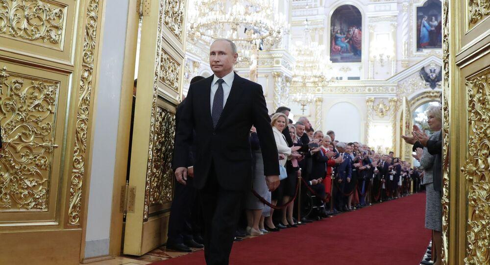 Insediamento di Vladimir Putin