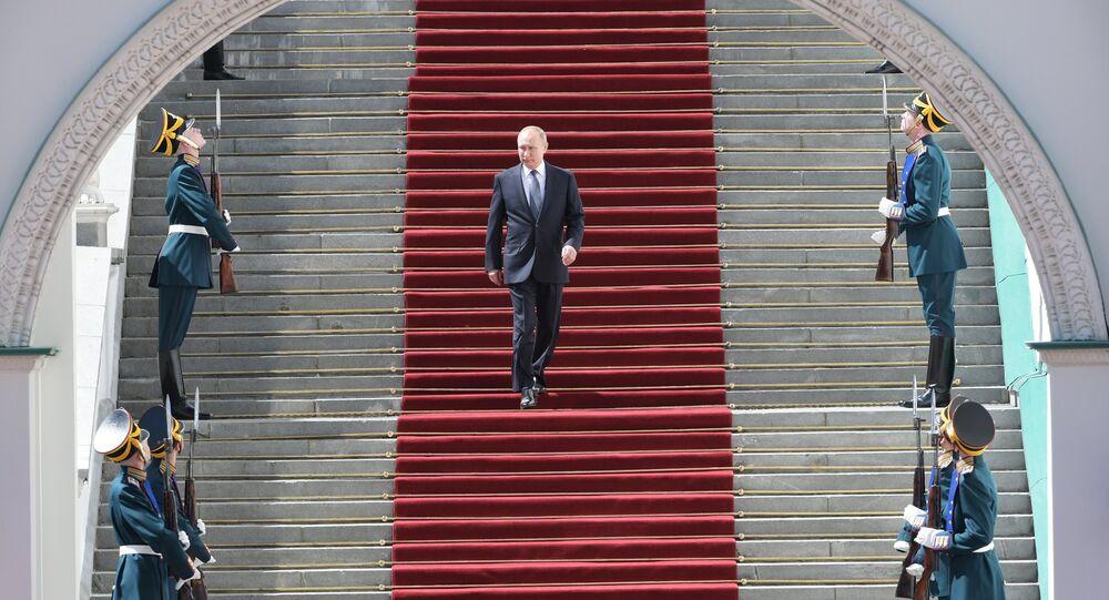 Inaugurazione del presidente Vladimir Putin