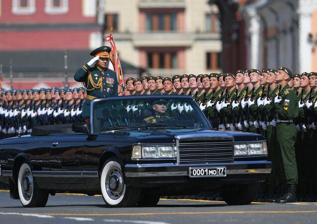 La Parata del Giorno della Vittoria 2018, Sergei Shoigu