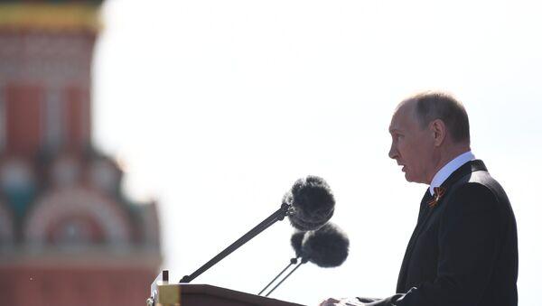 Il presidente Putin prende la parola - Sputnik Italia