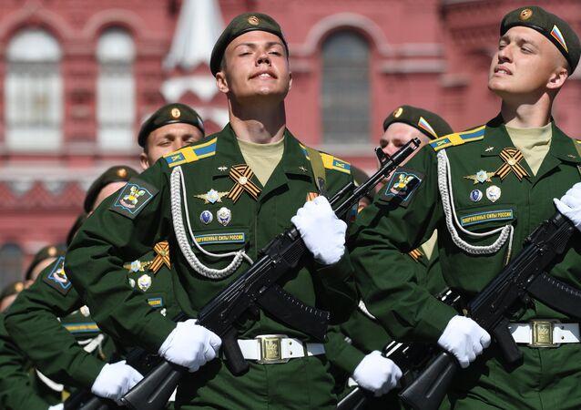 Allievi dell'Accademia Militare Aerospaziale Alexander Mozhaysky di San Pietroburgo