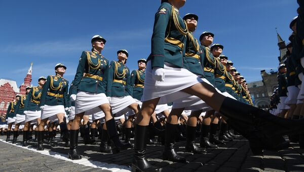Le donne soldato delle Forze Armate russe. - Sputnik Italia
