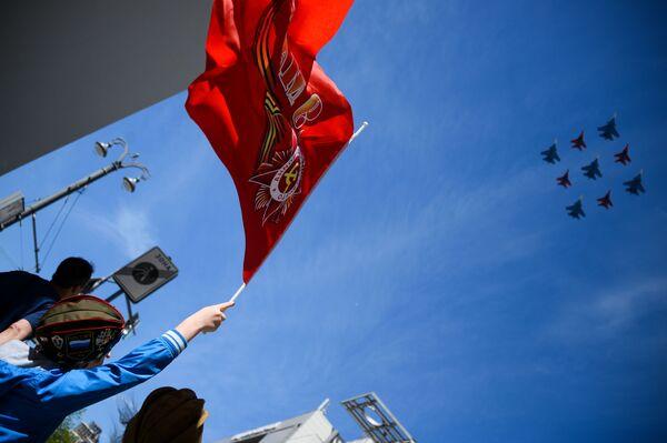 Le immagini più belle della parata militare del 9 maggio sulla Piazza Rossa. - Sputnik Italia