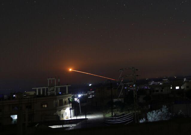 Bombardamento israeliano in Siria