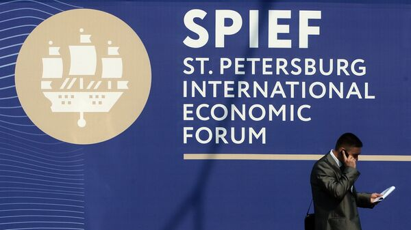 20th St. Petersburg International Economic Forum. Day One - Sputnik Italia