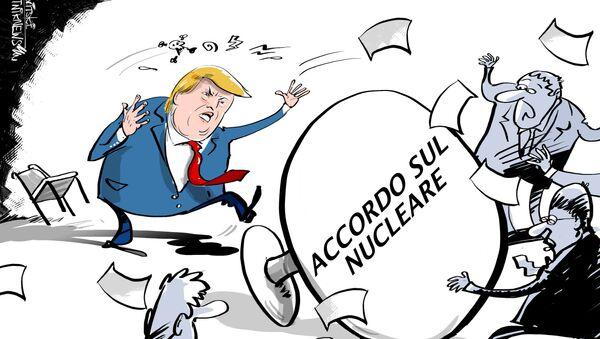 Gli USA si ritirano dall'accordo nucleare con l'Iran - Sputnik Italia