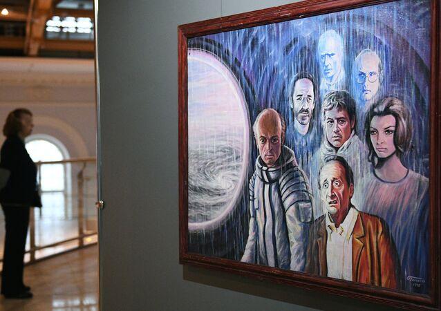 La mostra degli artisti russi Sognando lo spazio