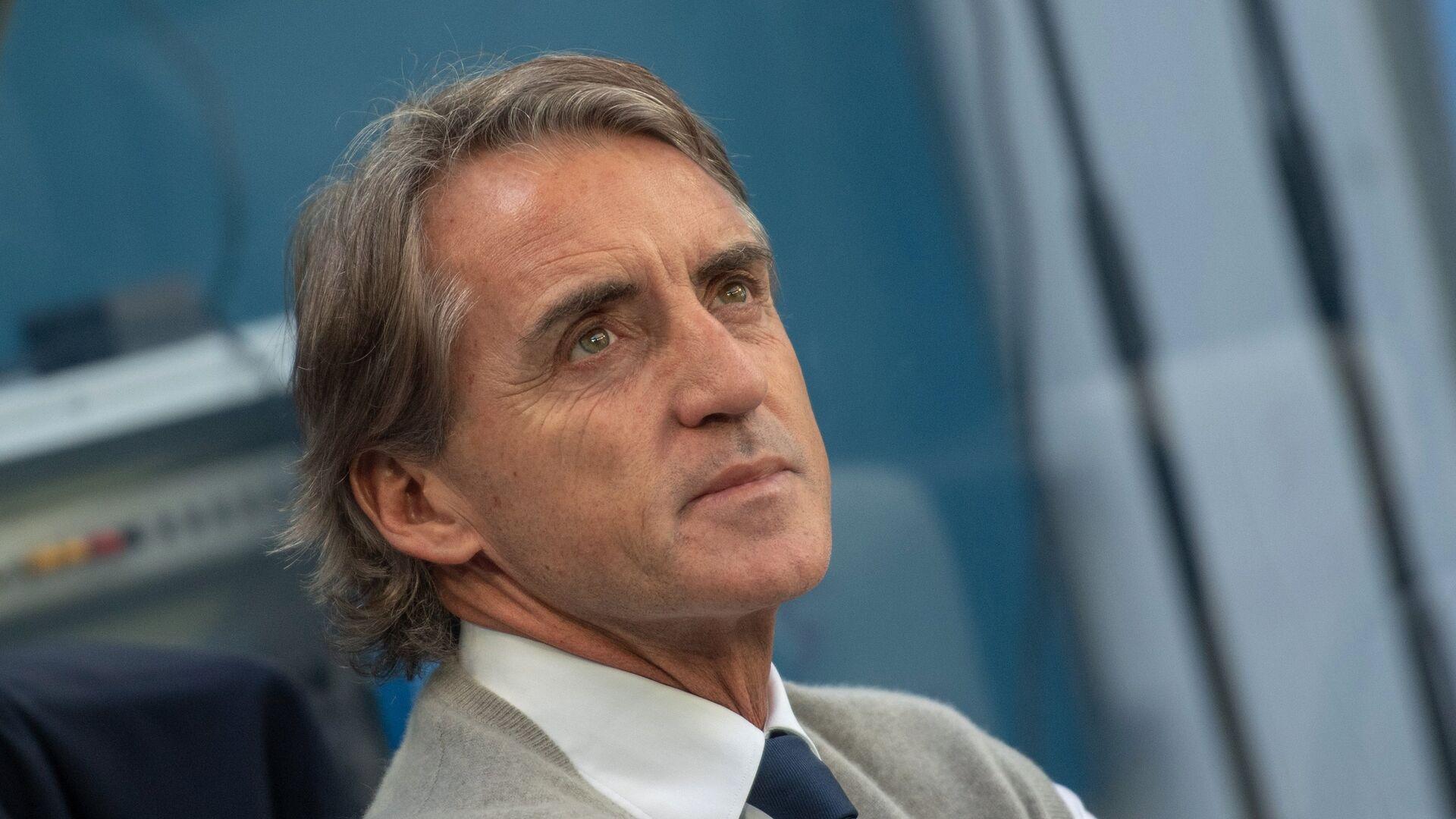 Roberto Mancini scruta il futuro, sarà azzurro? - Sputnik Italia, 1920, 09.09.2021