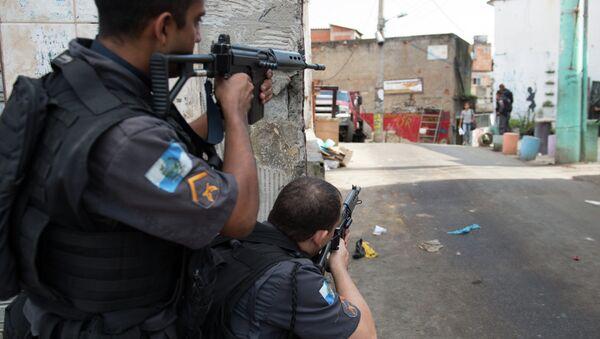 Polizia militare brasiliana - Sputnik Italia