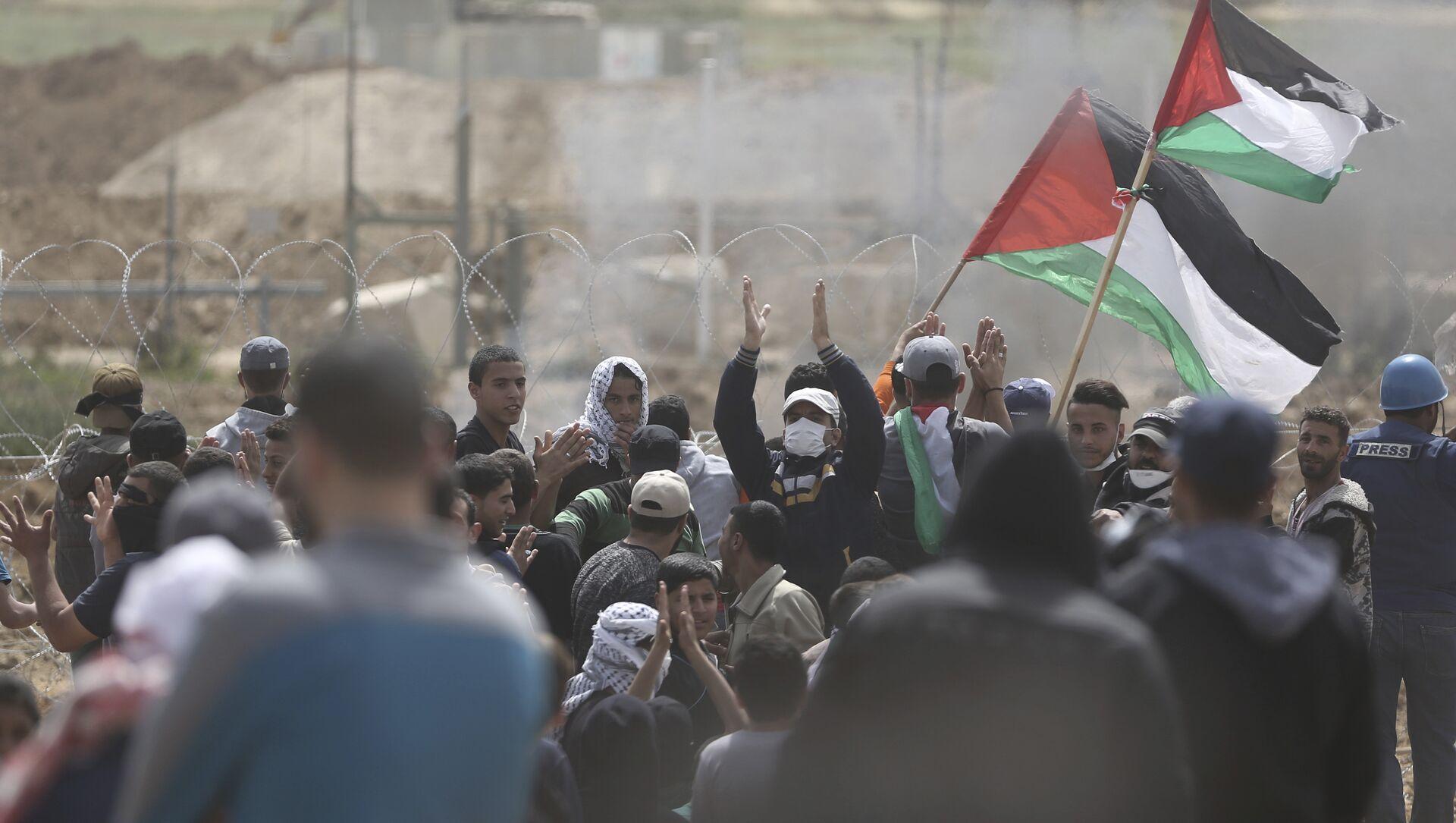 Proteste palestinesi - Sputnik Italia, 1920, 15.05.2021