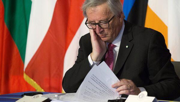 Il presidente della Commissione Europea Juncker - Sputnik Italia