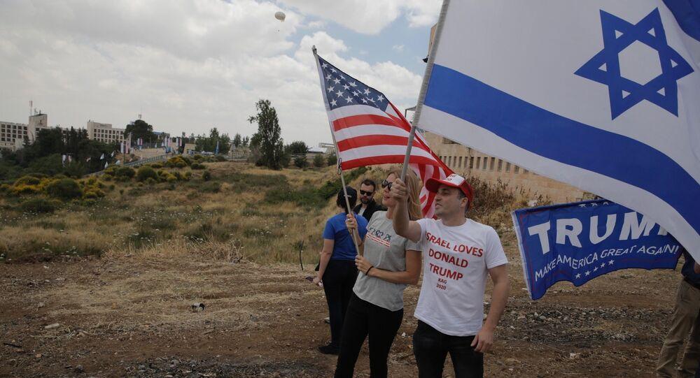 Bandiere degli USA ed Israele (foto d'archivio)