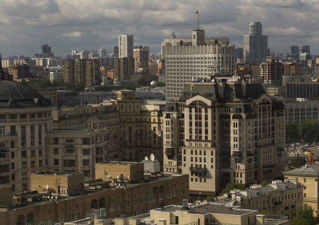 Mosca, Casa del governo russo.