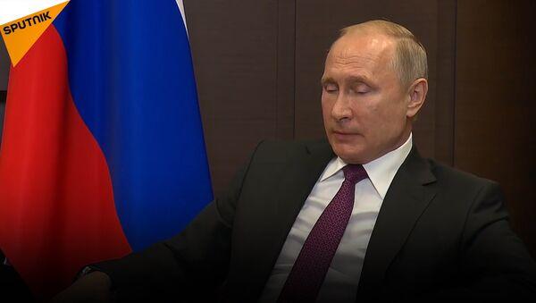 Vladimir Putin e il presidente Bashar al-Assad hanno condotto dei negoziati a Sochi - Sputnik Italia