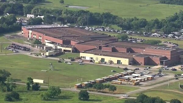 La scuola superiore di Santa Fe, Texas. - Sputnik Italia