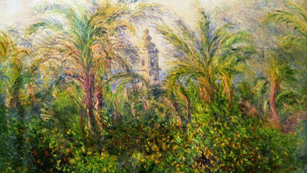 Claude Monet, Giardino a Bordighera, impressione al mattino (1884) - Sputnik Italia