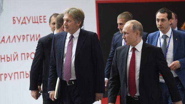 Peskov e Putin - Sputnik Italia