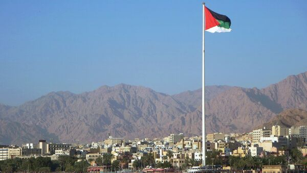 Bandiera della Giordania - Sputnik Italia