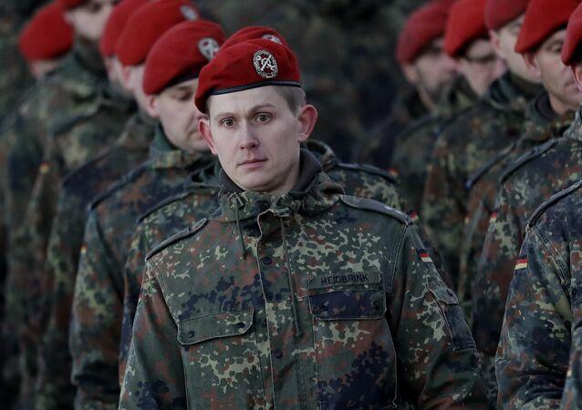 Soldati della Bundeswehr