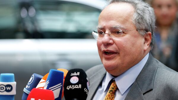Greek Foreign Minister Nikos Kotzias - Sputnik Italia