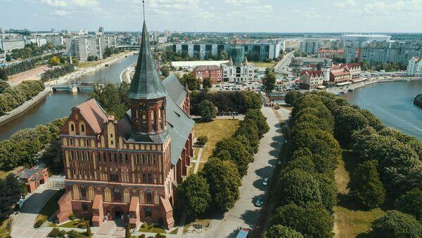 Cattedrale di Königsberg a Kaliningrad - Sputnik Italia