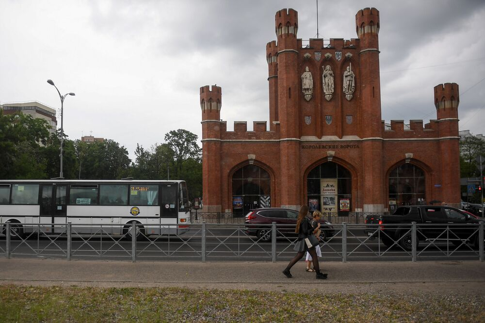 Kaliningrad è pronta ai Mondiali