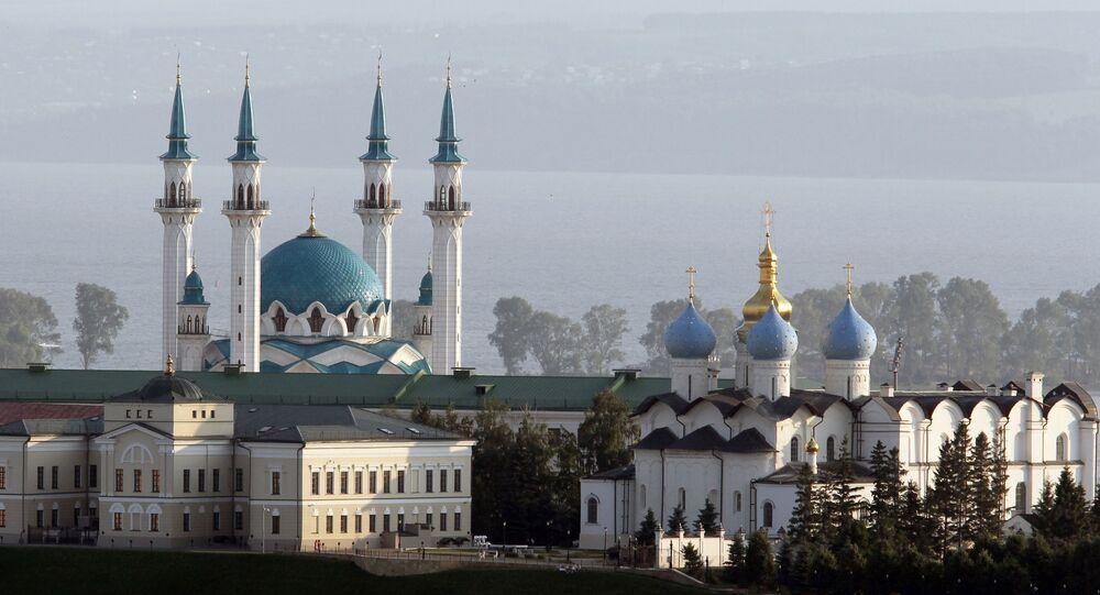 Il Cremlino di Kazan (capitale del Tatarstan)