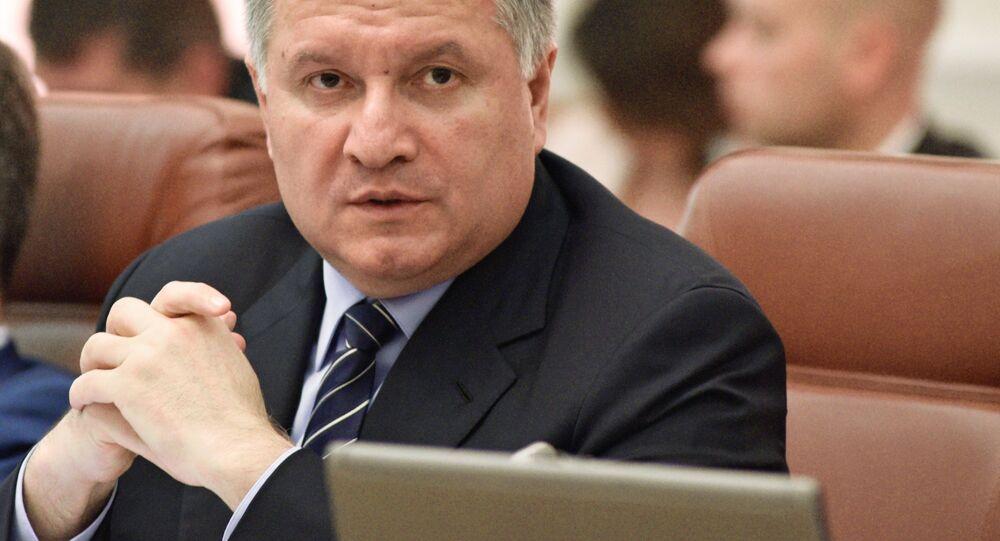 Ministro degli Interni ucraino Arsen Avakov