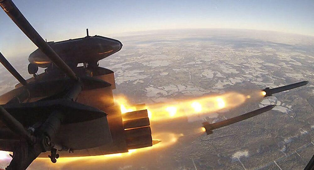 Lancio del razzo Broneboyschik