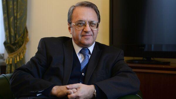 Il viceministro degli Esteri russo, Mikhail Bogdanov - Sputnik Italia