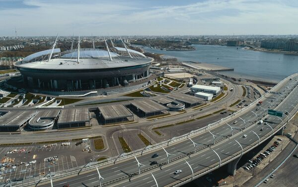 Lo stadio di San Pietroburgo - Sputnik Italia