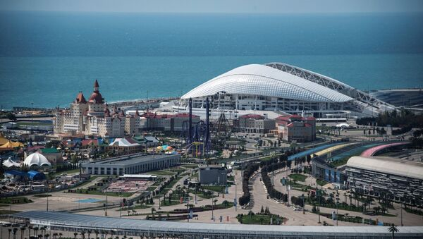 Lo stadio Fisht di Sochi - Sputnik Italia